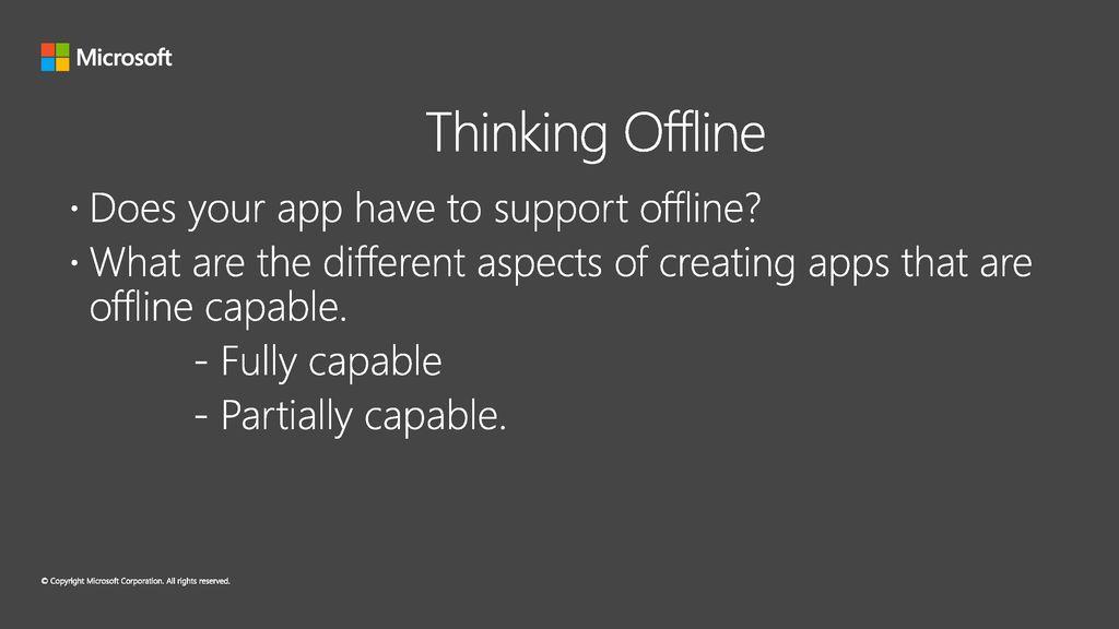 Build advanced PowerApps that work offline! - ppt download