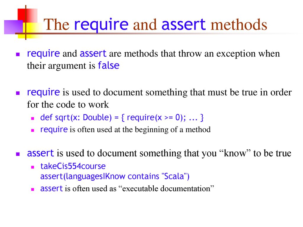 Exceptions and other things - ppt download