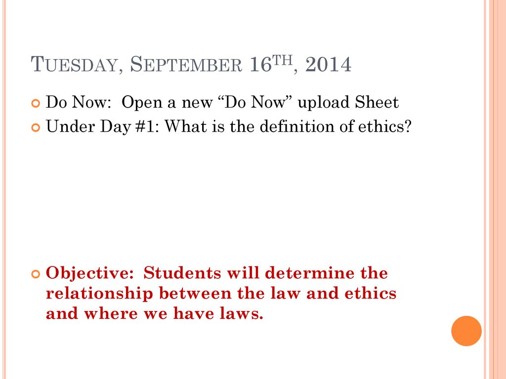 ethics. - ppt download