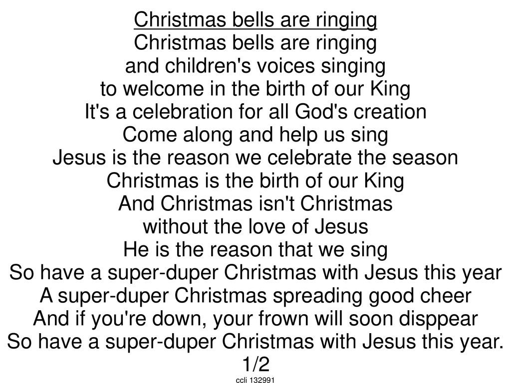 Christmas Bells Are Ringing.Christmas Bells Are Ringing And Children S Voices Singing