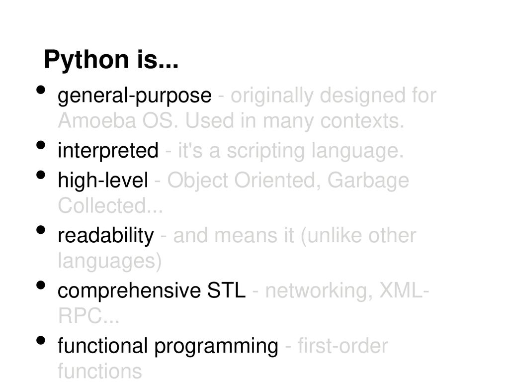 Python for Introduction to Complex NetworksStudents - ppt