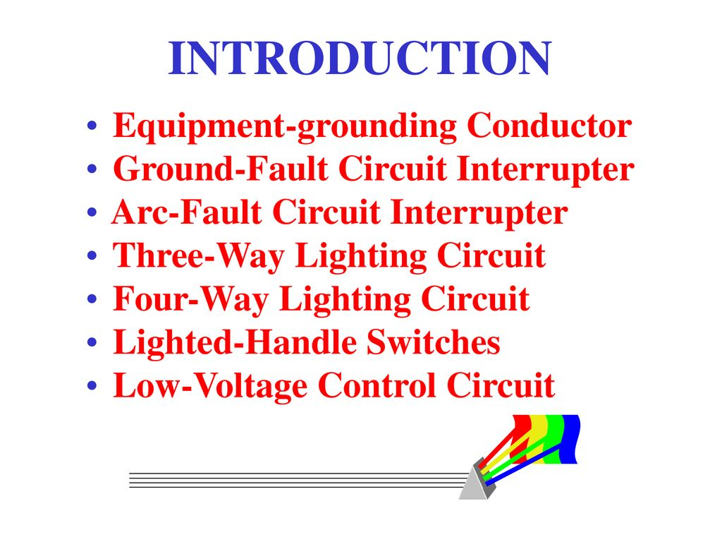 Principles Applications Residential Wiring Concepts Ppt Download Switching And Control Of Lighting Circuits 2 Introduction
