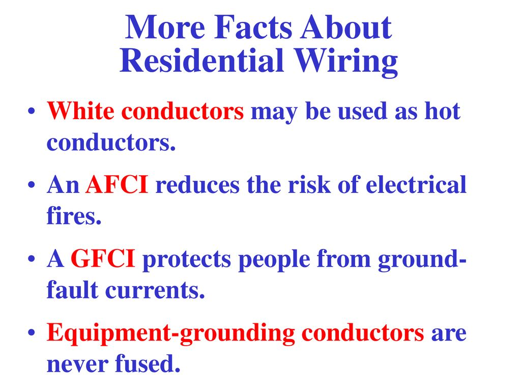Principles Applications Residential Wiring Concepts Ppt Download Grounding More Facts About