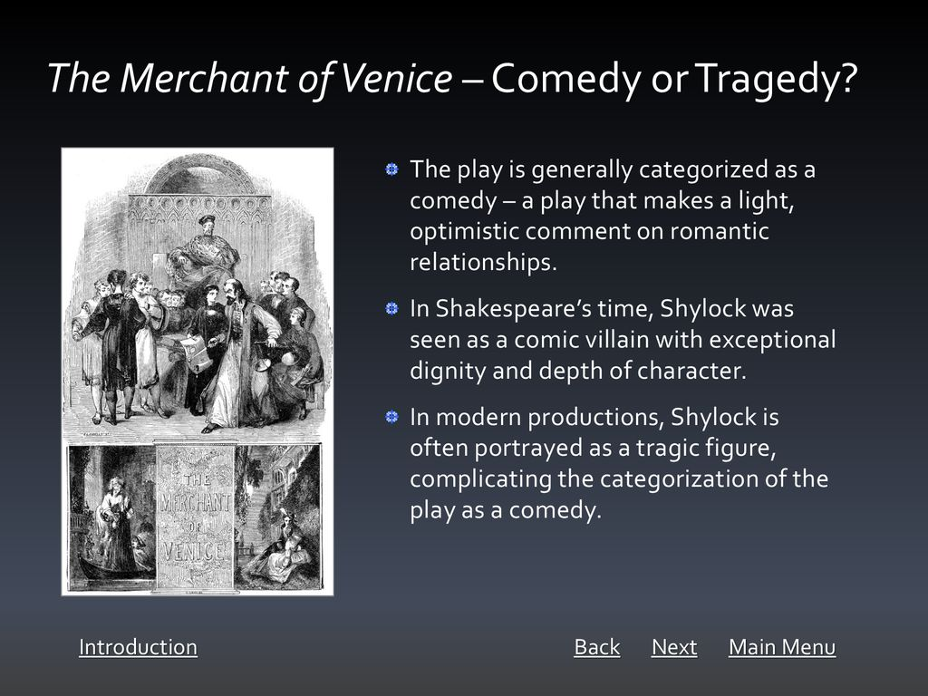 Thinking about The Merchant of Venice - ppt download