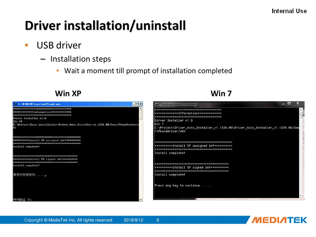 Driver installation for SP BSP tools - ppt download