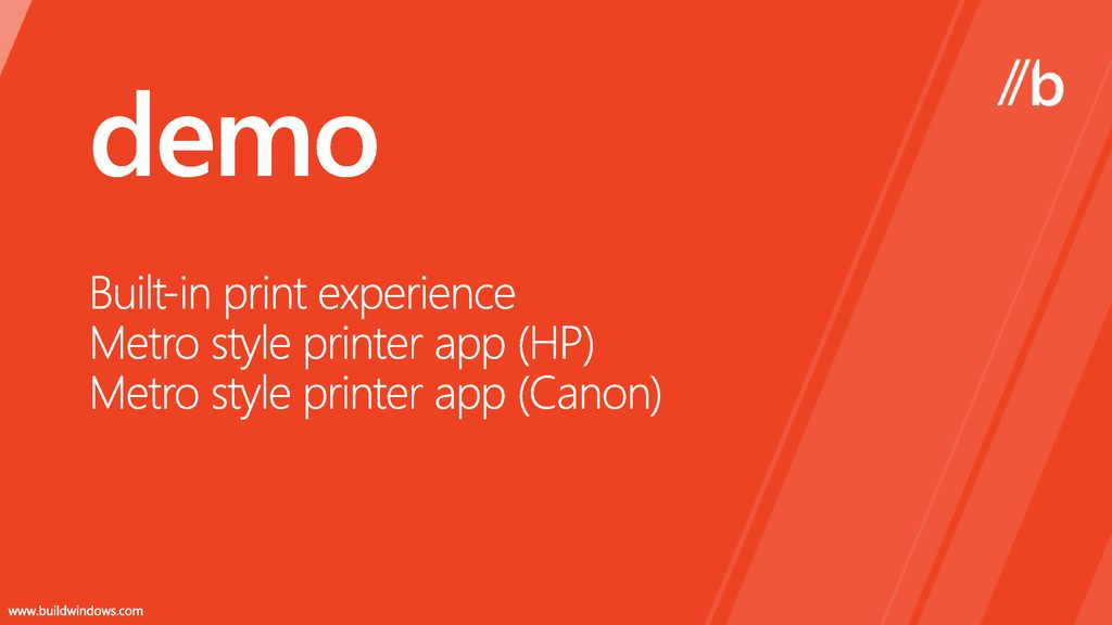 Building a great Metro style device app for your printer - ppt download