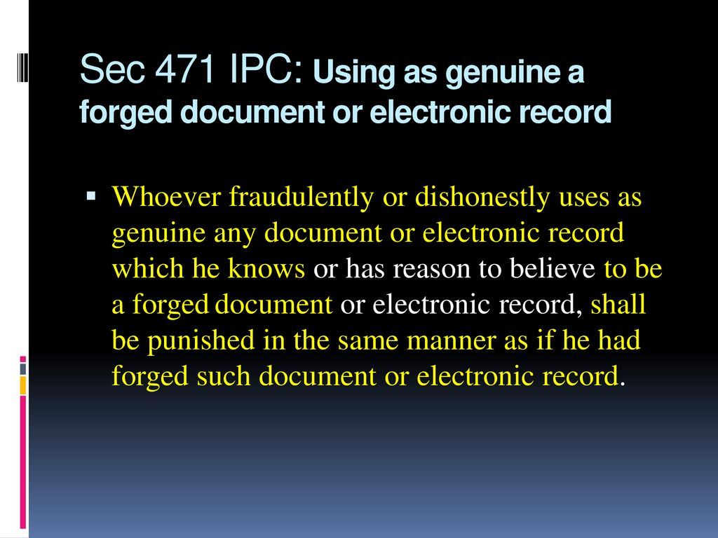 section 471 ipc