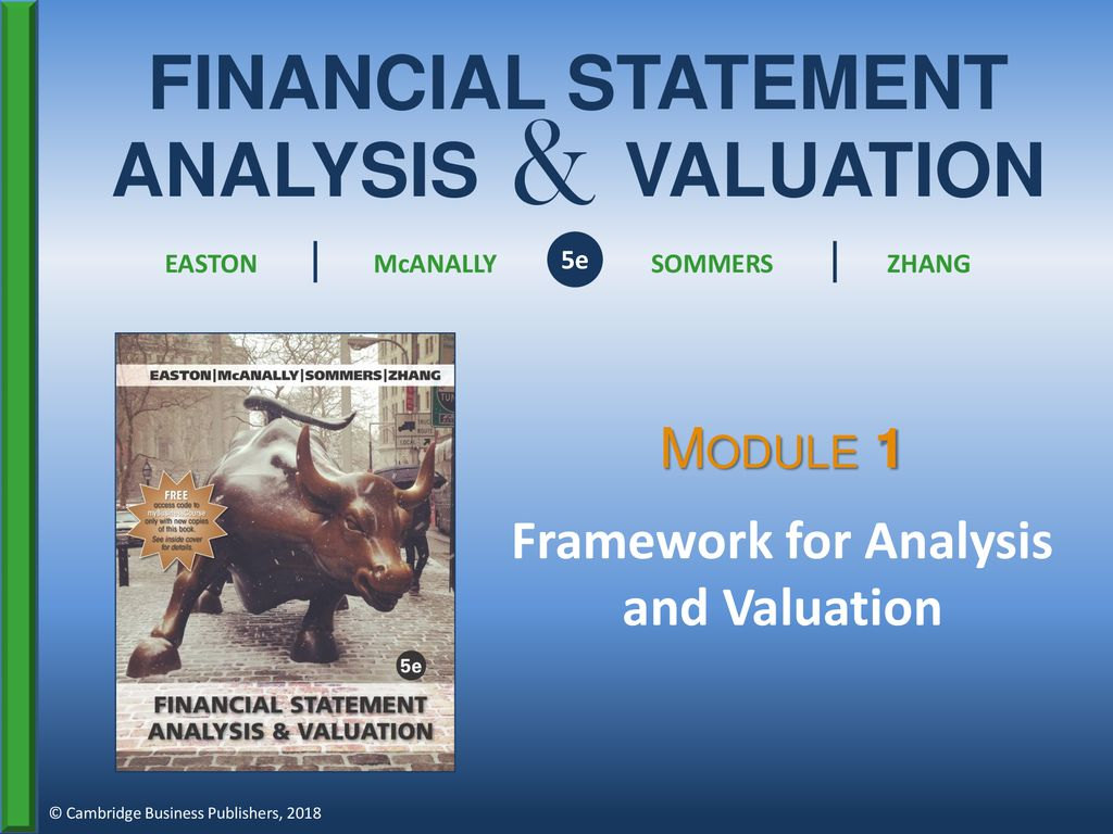 Framework for Analysis and Valuation - ppt download