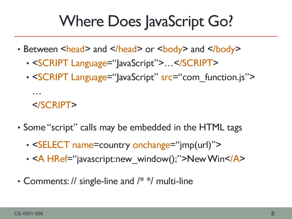 Dynamic Web Pages Client Side Events JavaScript - ppt download