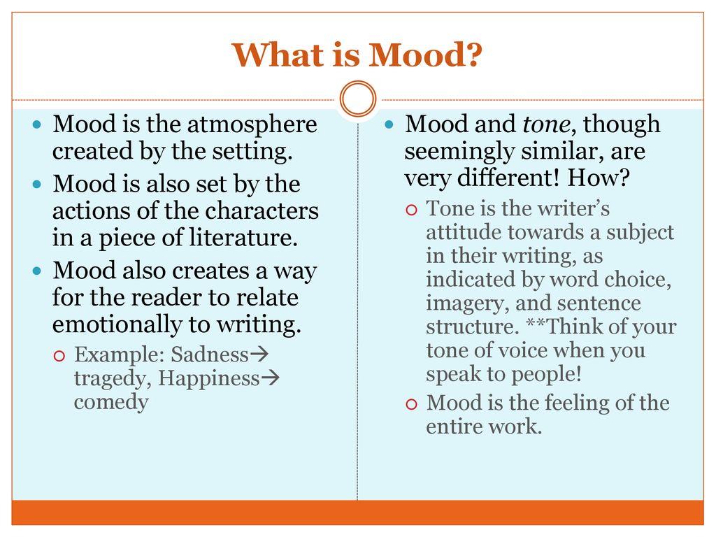 example of atmosphere in literature