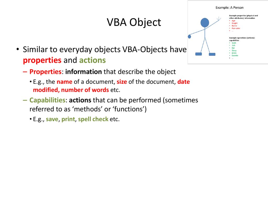 VBA (Visual Basic For Applications) Programming Part II - ppt download