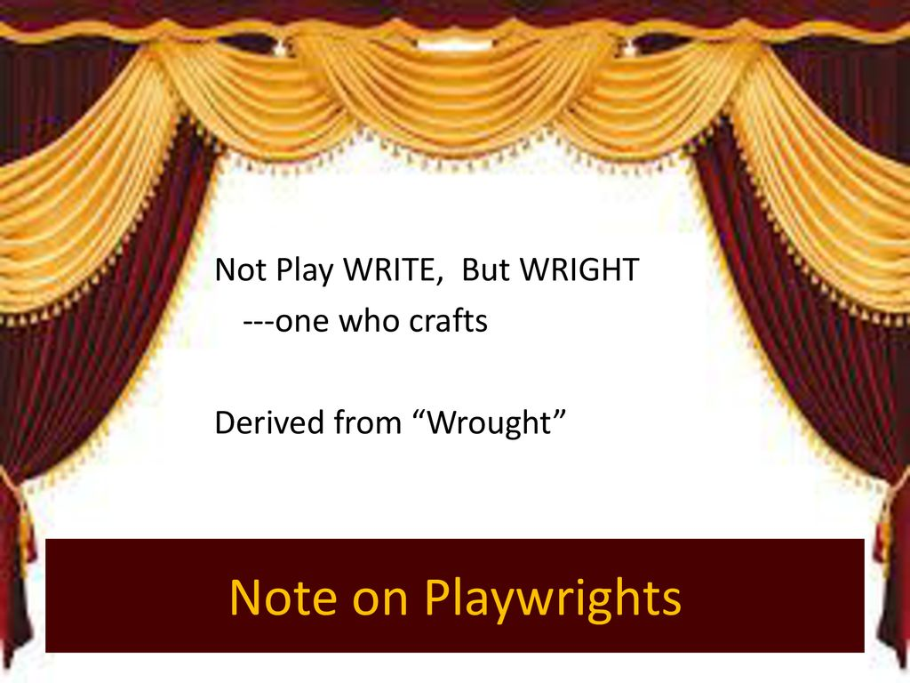 welcome to the theater elements of drama ppt download