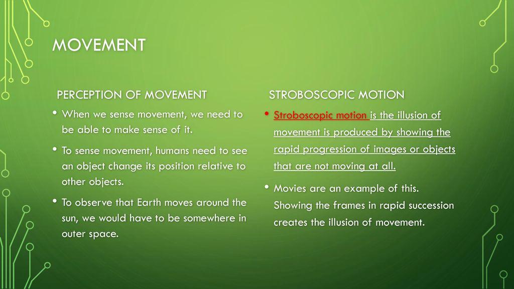 stroboscopic movement