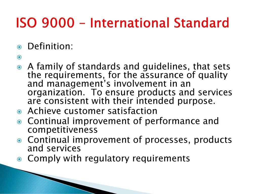 quality management systems - ppt download