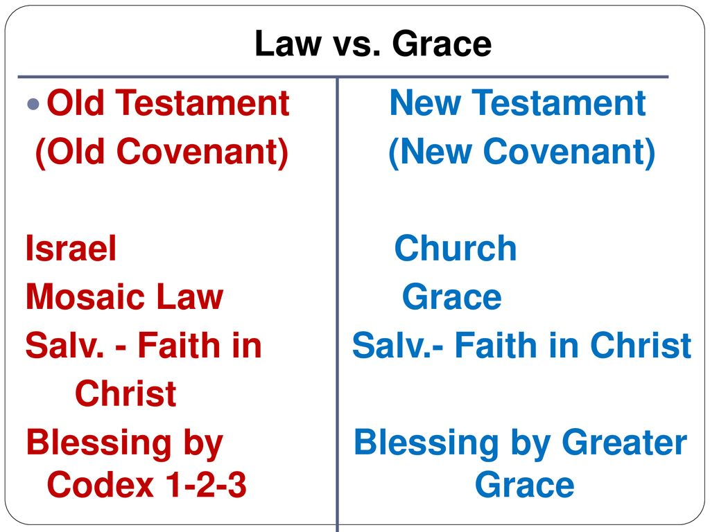 Grace or what laws change our mood