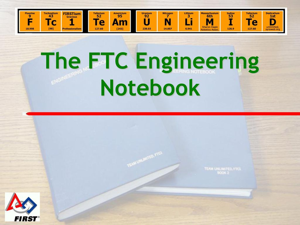 ftc engineering notebook examples