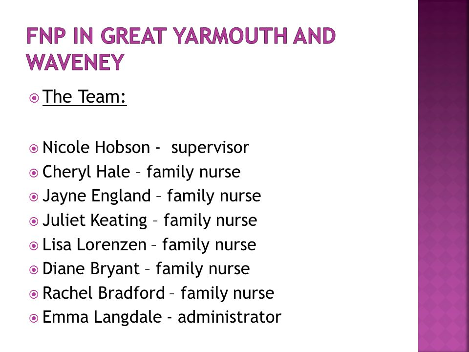 FNP IN Great Yarmouth and Waveney