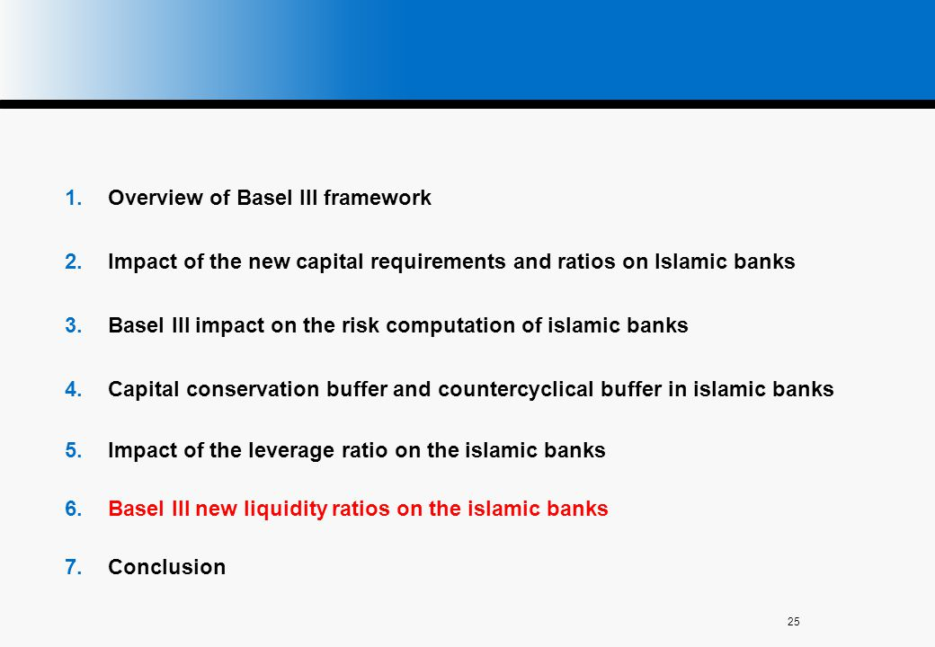 Overview of Basel III framework