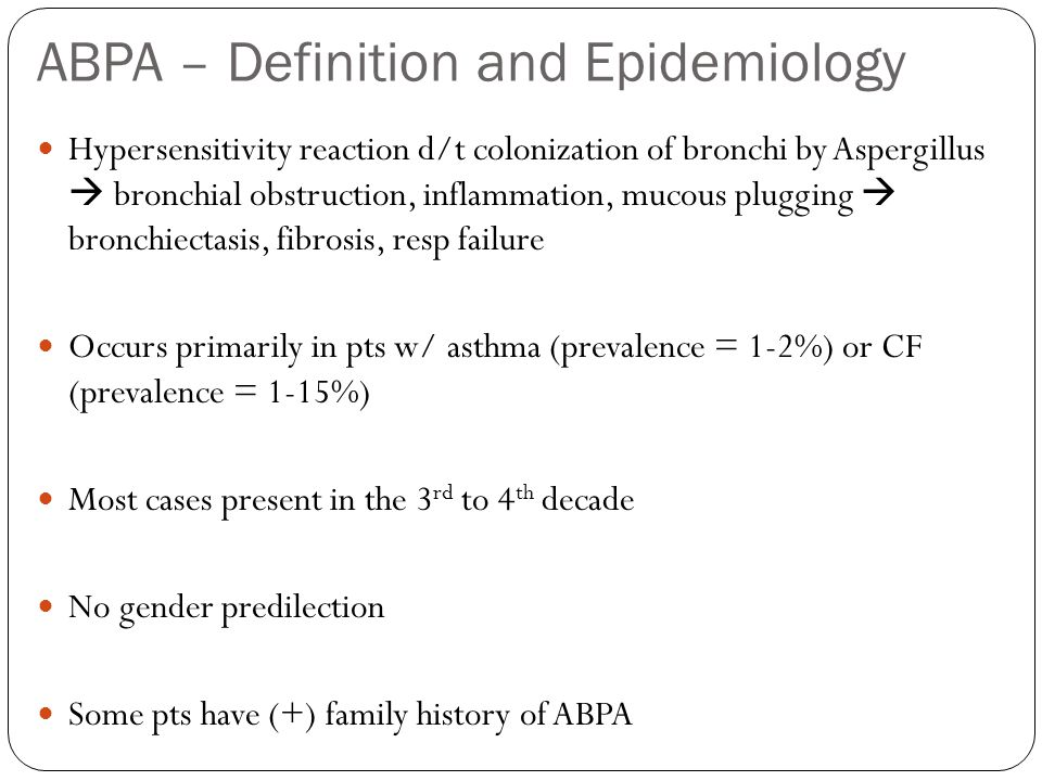 ABPA – Definition and Epidemiology