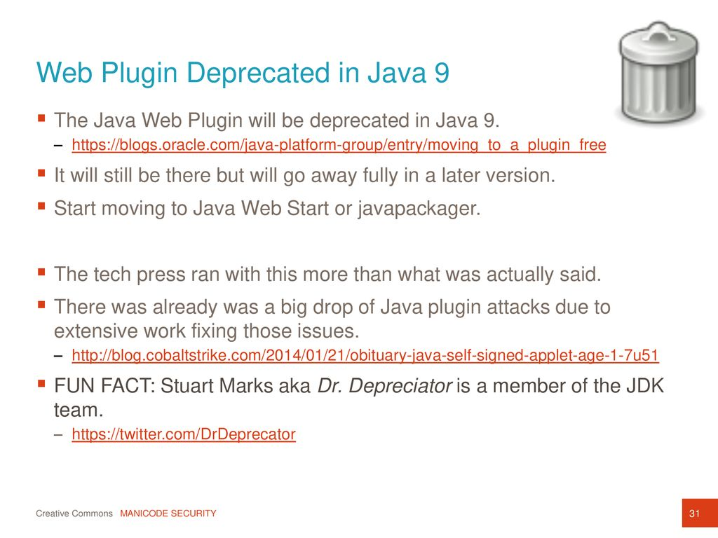 New Security Control Enhancements Java 8 and 9 - ppt download