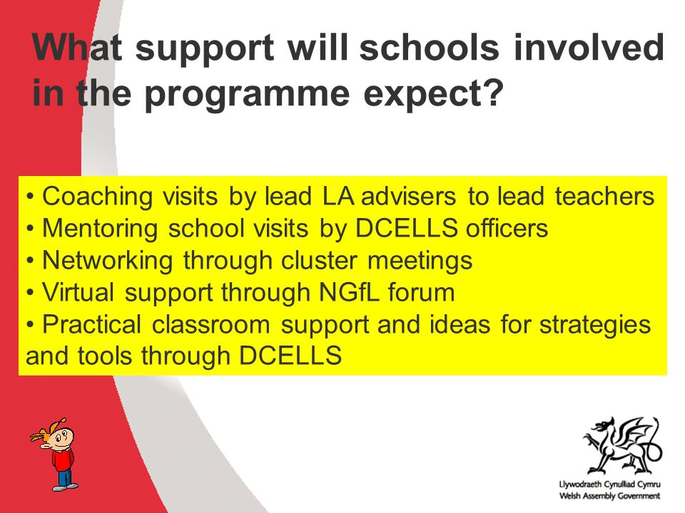 What support will schools involved