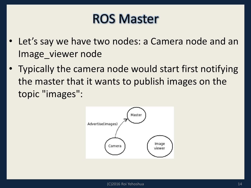 What is ROS? ROS is an open-source robot operating system - ppt download