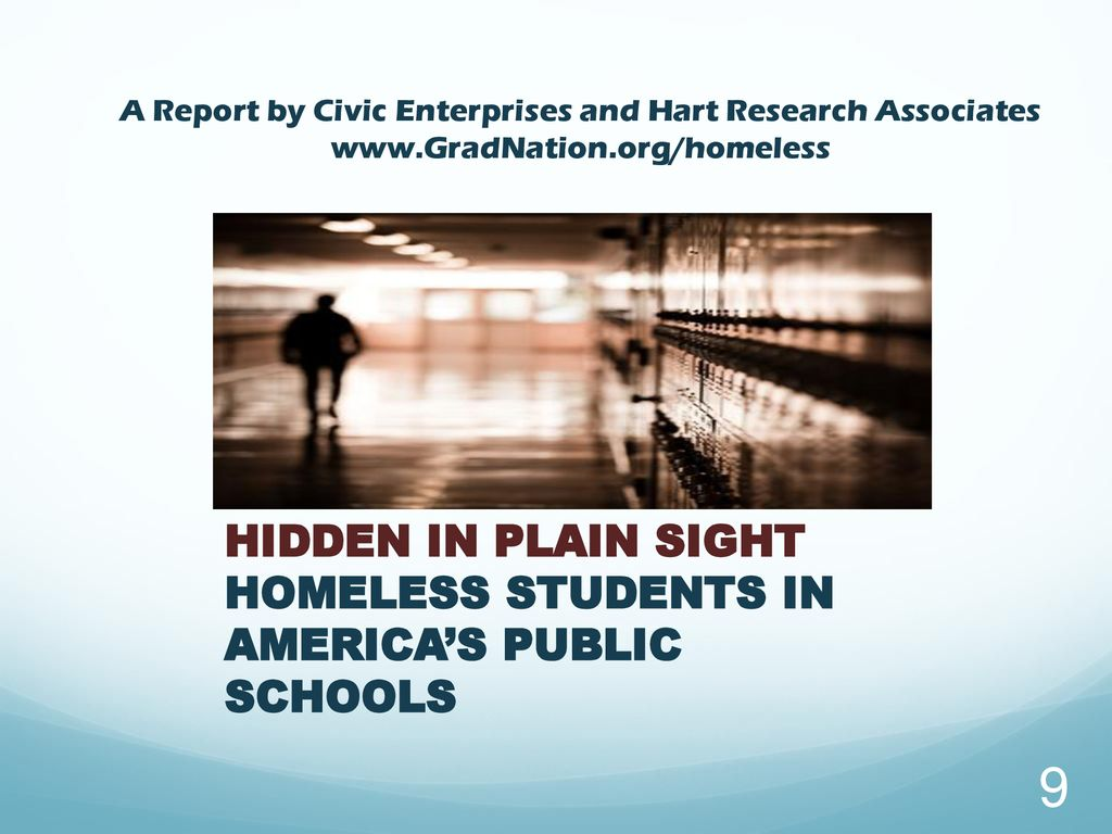 Hidden In Plain Sight Homeless Students >> Mckinney Vento Act Ppt Download