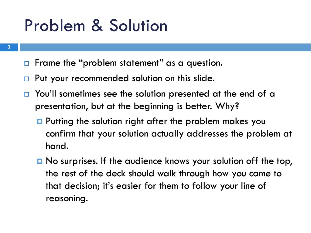 Mba presentation this is a generic business case study presentation 3 problem accmission Gallery