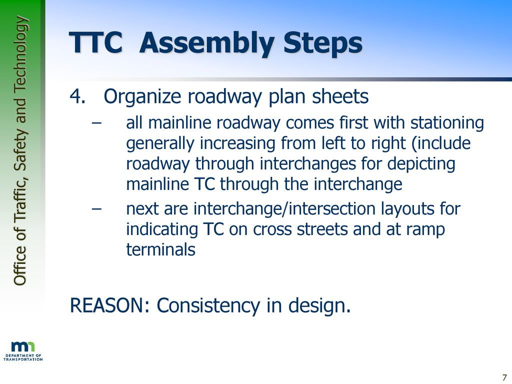 Traffic Control Plan Development Course - ppt download