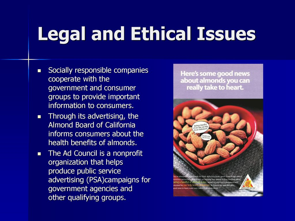 ethical issues in a healthy eating campaign