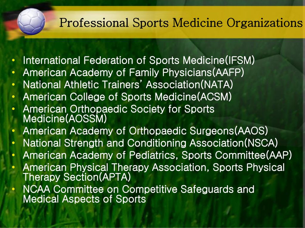 Introduction to Sports Medicine - ppt download