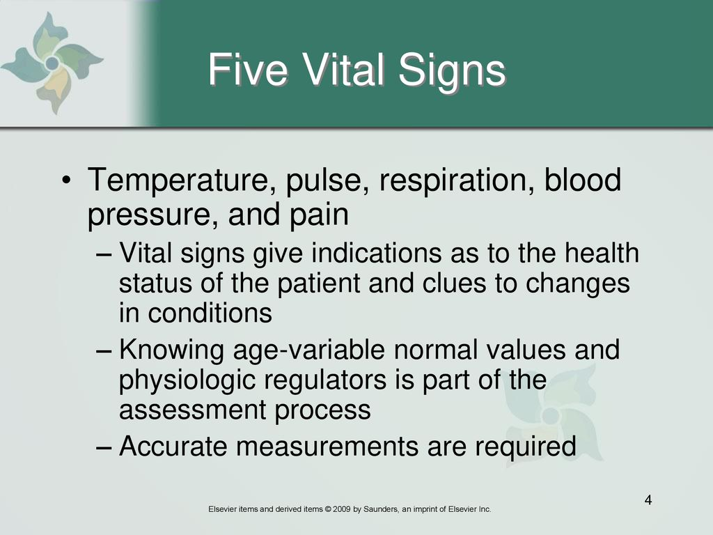 Chapter 21 Measuring Vital Signs Ppt Download