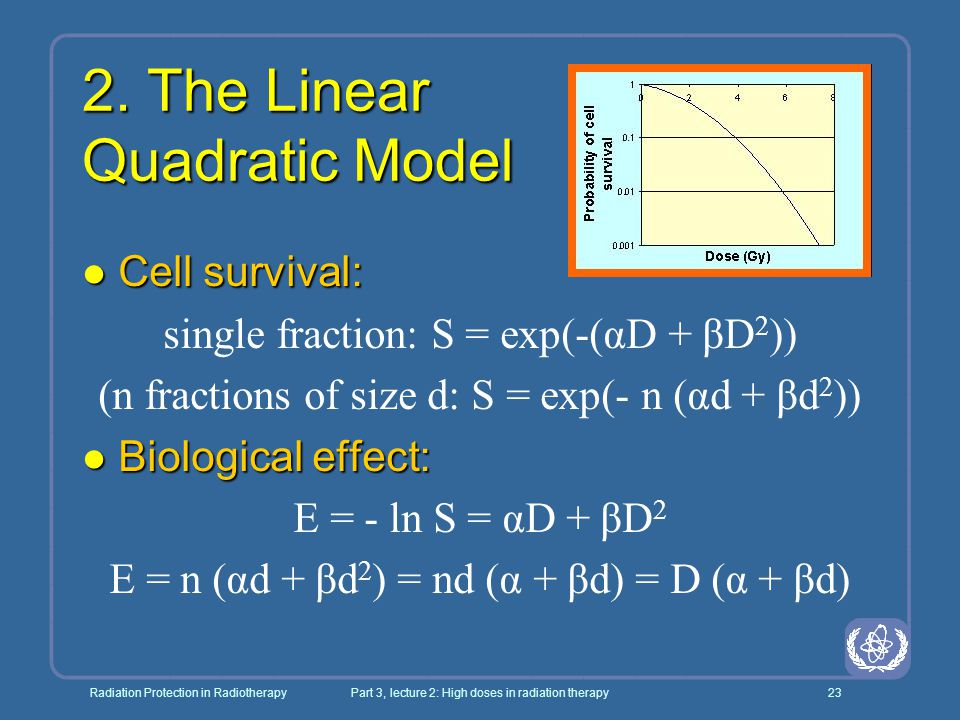2. The Linear Quadratic Model