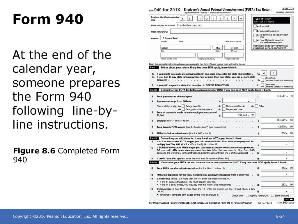 Chapter 8 Paying the Payroll, Depositing Payroll Taxes, and Filing ...