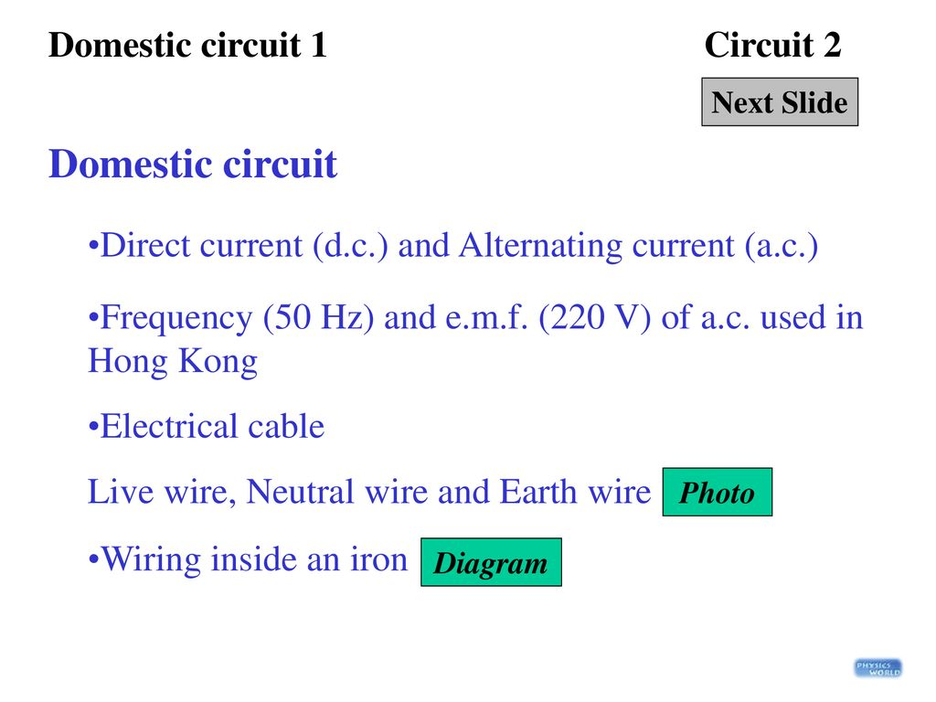 Basic Definitions Power 1 Circuit 2 Ppt Download Wiring Neutral Live 3 Domestic