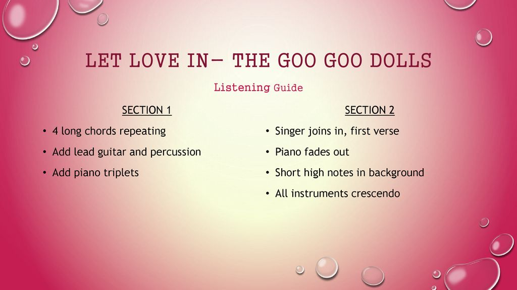 Music Analysis By Kayli Carter Ppt Download