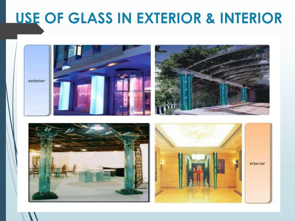 Glass As A Building Material Ppt Download