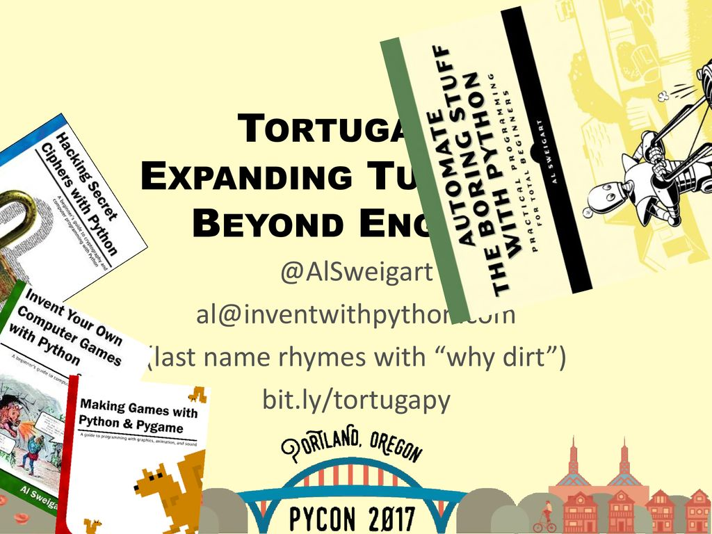 Tortuga py Expanding Turtle py Beyond English - ppt download