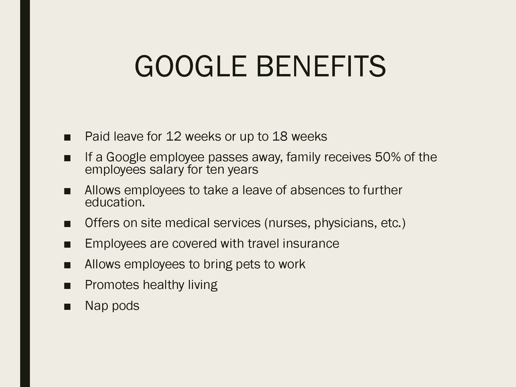 Why Google should be your employer - ppt download