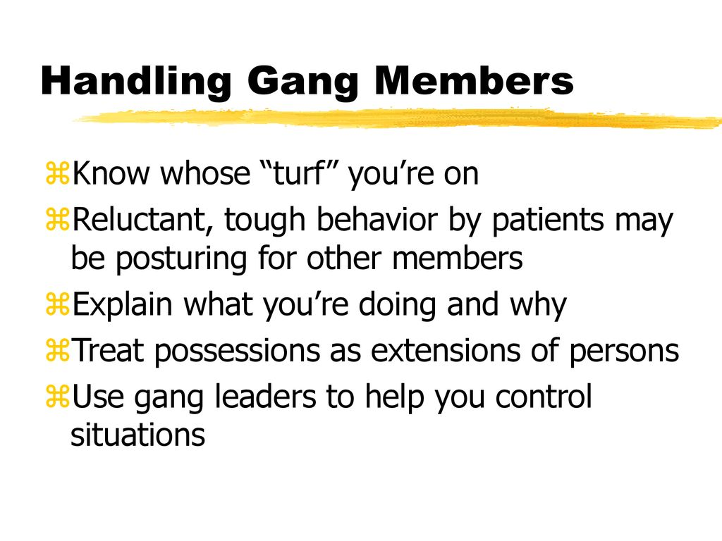 Gangs  - ppt download