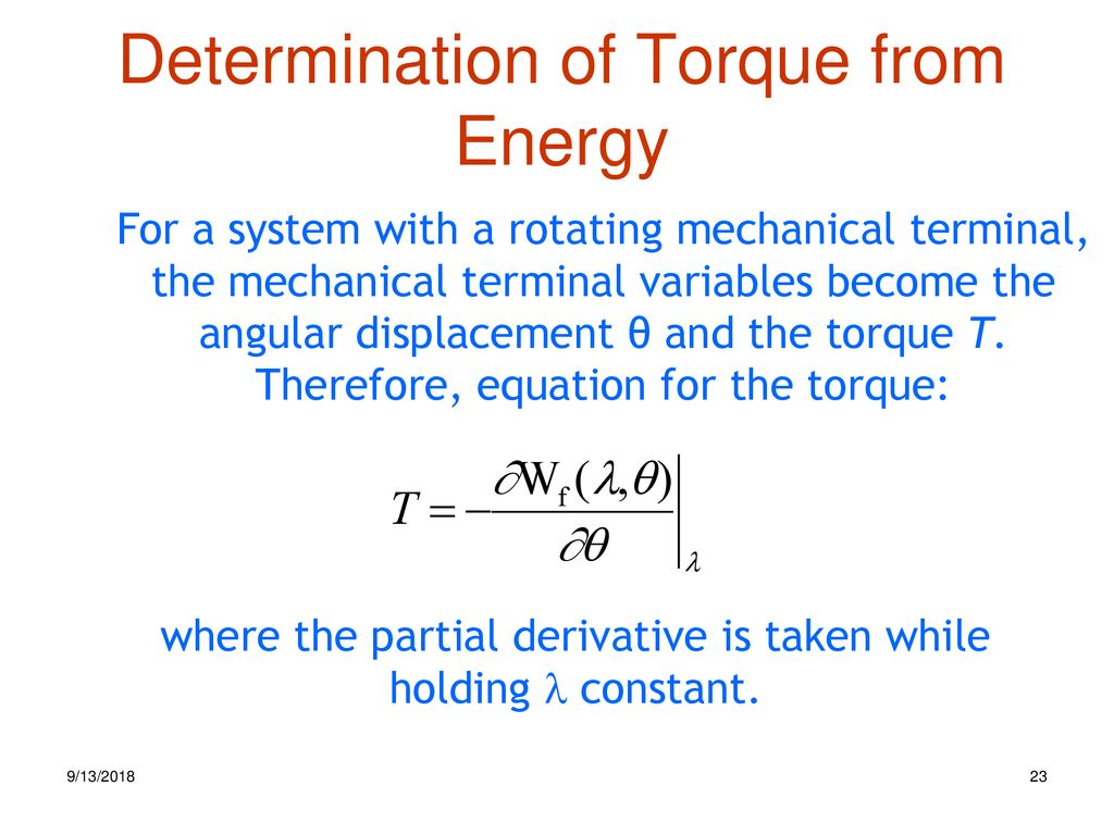 Electromechanical Energy Conversion Ppt Download Electromagnetic Relay Equation 23 Determination