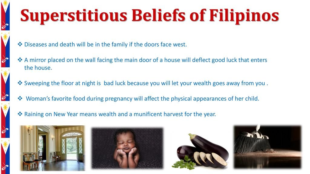 filipino superstitious beliefs about pregnancy
