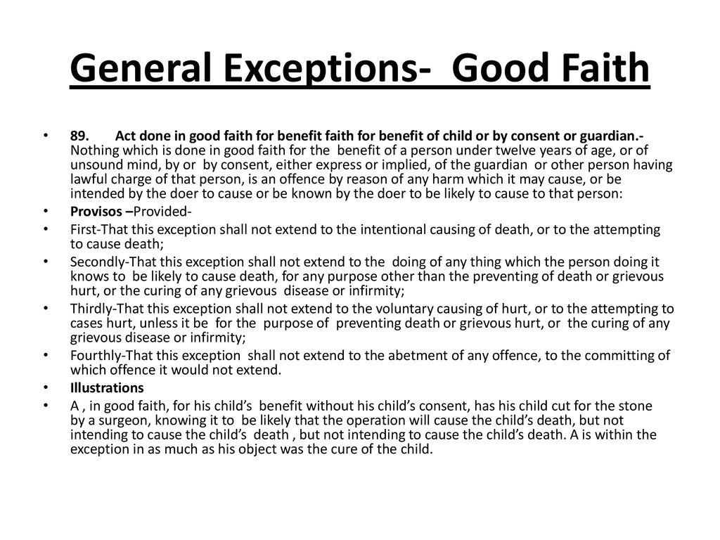 general exceptions under ipc ppt