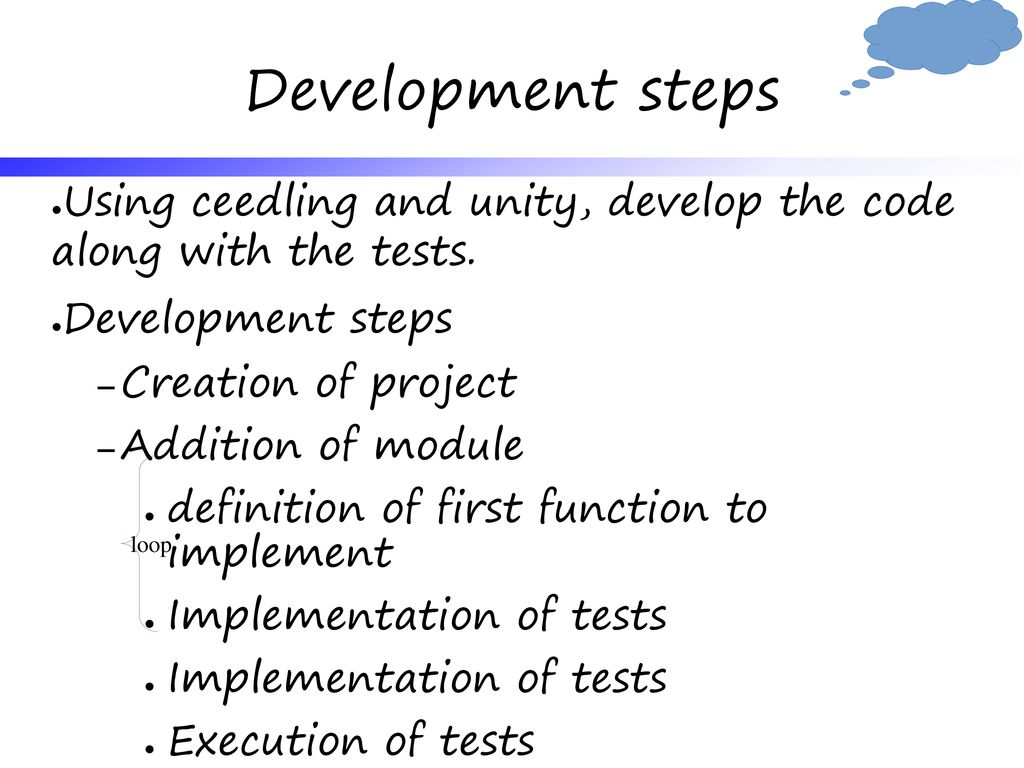 Systems Programming 3rd laboratory Test_driven Development