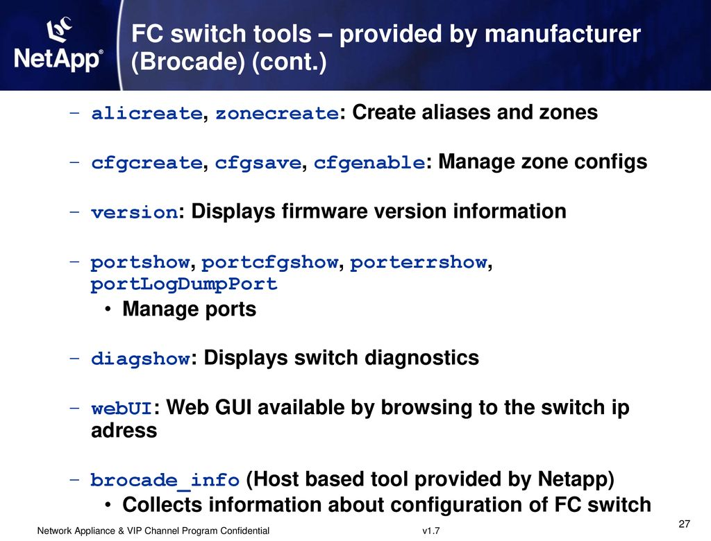Fibre Channel Supported Configurations Switching & Hosts