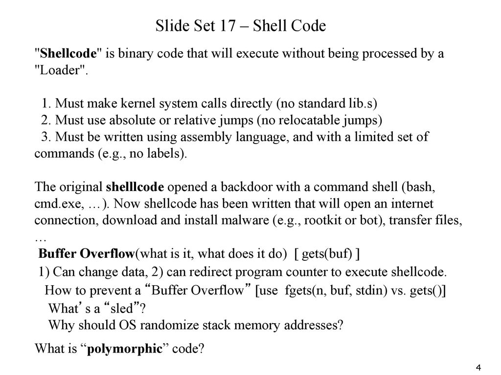 What Is R57 Shell