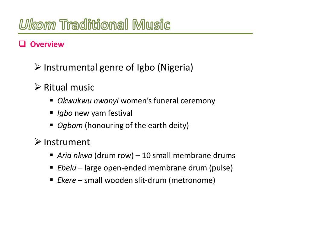 AFRICAN PIANISM: A Compositional Framework & Musical Culture