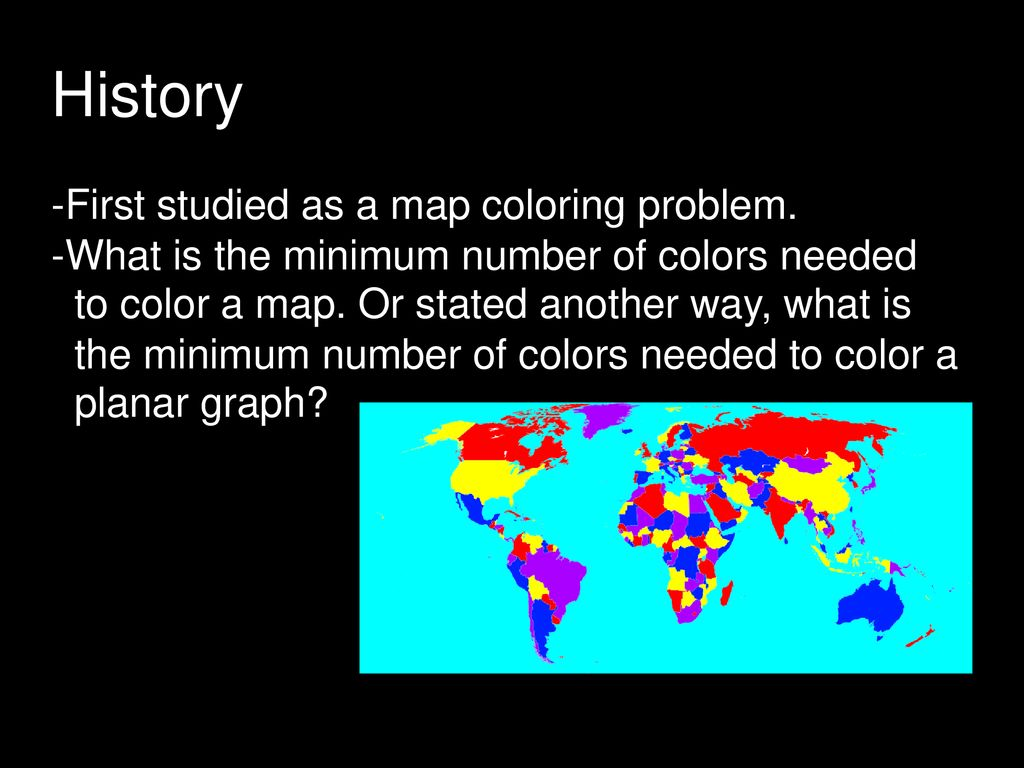 Graph Coloring Cs 594 Stephen Grady Ppt Download