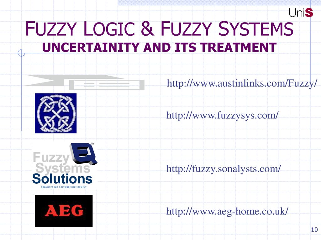 FUZZY LOGIC & FUZZY SYSTEMS BACKGROUND & DEFINITIONS - ppt