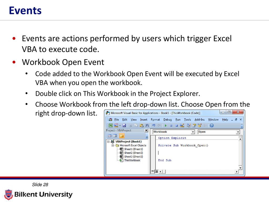 VBA Activate Worksheet   ActiveSheet in Excel additionally How to place excel VBA code on save event   Stack Overflow besides More VBA IE 469 Fall ppt download moreover VBA Events Excel   Explained with Ex les moreover Browse For File and Open Workbook with Excel VBA   YouTube also How to Open A Spreadsheet for Vba Workbook Open Save Fresh Excel Vba in addition Refresh All Data Connections on Workbook Open   Excel Macros likewise Excel VBA Events   An Easy  and  plete  Guide moreover Excel VBA – Read Data from a Closed Excel File or Workbook without in addition Excel VBA Events  Tutorial And  plete List With 115 Events further  in addition VBA UserForm   A Guide for Everyone   Excel Macro Mastery additionally vs Public Subs  Variables   Functions in VBA   Excel off the in addition Automatically Entering a Data Entry Time  Microsoft Excel moreover Workbooks   PK  An Excel Expert besides The sequence of events in Excel workbooks   Pixcels nl. on excel vba worksheet open event